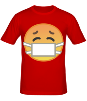 Мужская футболка Не болеем , маски носим