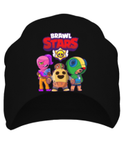 Шапка Brawl Stars three characters from the game