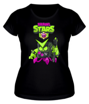 Женская футболка Virus 8-Bit New Skin Brawl Stars