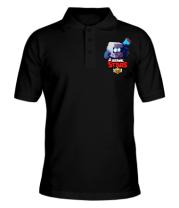 Мужская футболка поло Hero from Brawl Stars