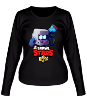 Женская футболка длинный рукав Hero from Brawl Stars
