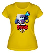 Женская футболка Hero from Brawl Stars