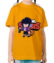 Детская футболка  Bibi from Brawl Stars