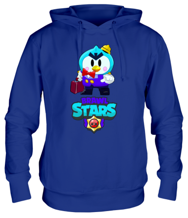 Толстовка худи Brawl stars Mr Penguin