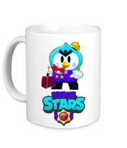 Кружка Brawl stars Mr Penguin