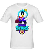 Мужская футболка Brawl stars Mr Penguin