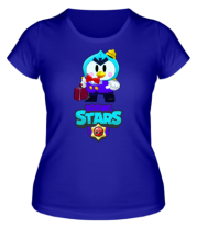 Женская футболка Brawl stars Mr Penguin
