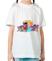 Детская футболка Brawl stars girl