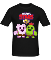 Мужская футболка BS Sakura and Spike