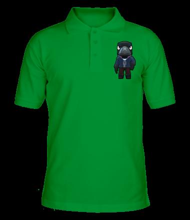 Мужская футболка поло Crow