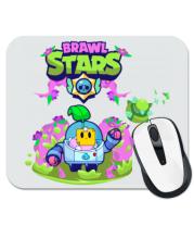 Коврик для мыши Sprout Brawl Stars art