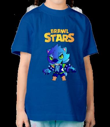 Детская футболка brawl stars leon werewolf купить онлайн