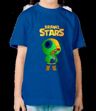 Детская футболка Leon brawl stars