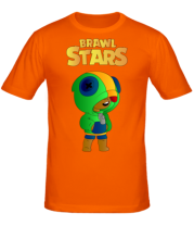 Мужская футболка Leon brawl stars