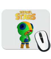 Коврик для мыши Leon brawl stars