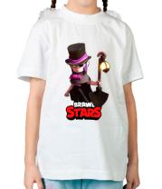 Детская футболка Mortis Brawl Stars Hero