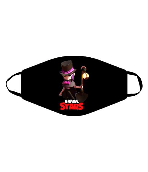 Маска Mortis Brawl Stars Hero