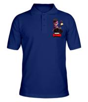 Мужская футболка поло Mortis Brawl Stars Hero