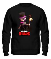 Толстовка без капюшона Mortis Brawl Stars Hero