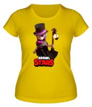 Женская футболка Mortis Brawl Stars Hero