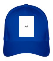 Бейсболка Влад А4 лист