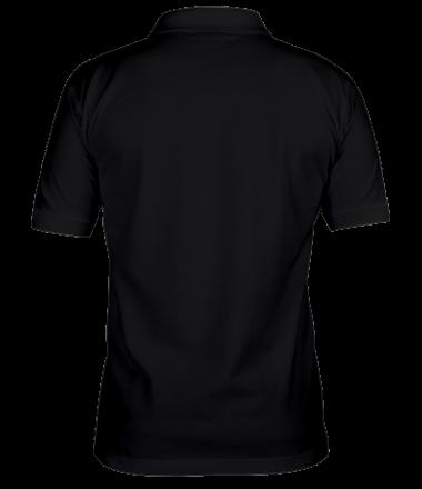 Мужская футболка поло Пофиг пляшем