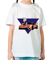 Детская футболка А4 ЛАМБА