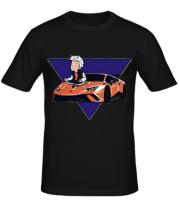 Мужская футболка А4 ЛАМБА