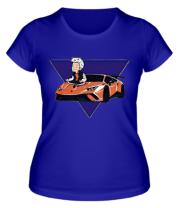 Женская футболка А4 ЛАМБА