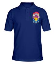 Мужская футболка поло Влад А4 Бумага