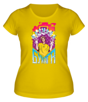 Женская футболка Влад А4 Бумага