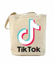 Сумка повседневная  Tiktok logo