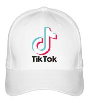 Бейсболка  Tiktok logo