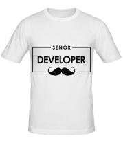 Мужская футболка Senor Developer