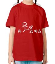 Детская футболка Пинать