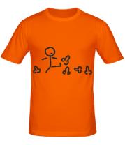 Мужская футболка Пинать