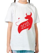 Детская футболка Год Коровы 2021