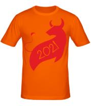 Мужская футболка Год Коровы 2021
