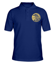 Мужская футболка поло Новый Год 2021