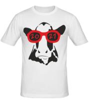 Мужская футболка Год Коровы