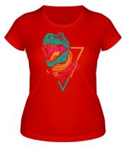 Женская футболка Космический Рекс