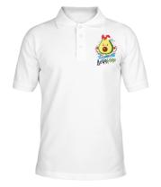 Мужская футболка поло ДочаКадо