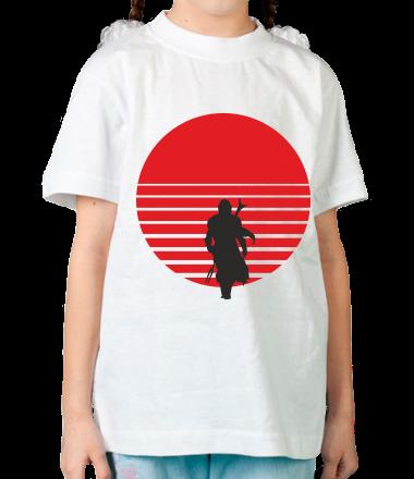 Детская футболка Mandalorian