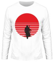 Мужская футболка длинный рукав Mandalorian