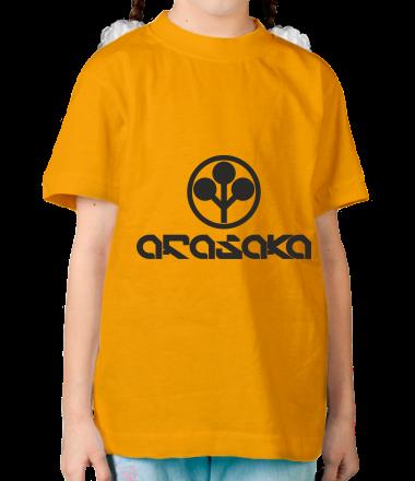 Детская футболка ARASAKA CyberPunk