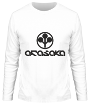 Мужская футболка длинный рукав ARASAKA CyberPunk