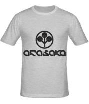 Мужская футболка ARASAKA CyberPunk