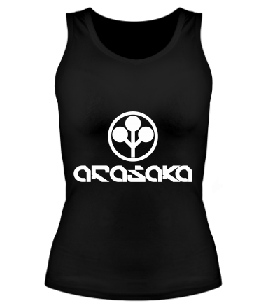 Женская майка борцовка ARASAKA CyberPunk