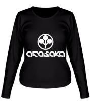 Женская футболка длинный рукав ARASAKA CyberPunk