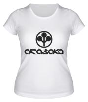Женская футболка ARASAKA CyberPunk
